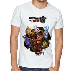 Camiseta Five Nights at Freddy's Personagens