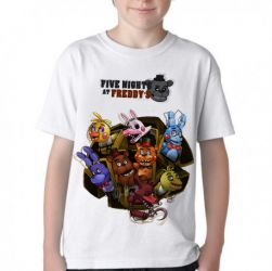 Camiseta Infantil  Five Nights at Freddy