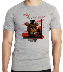Camiseta Infantil  Five Nights at Freddy's Toy Freddy