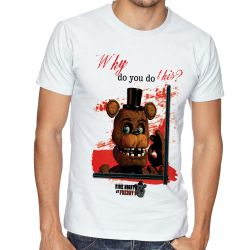 Camiseta Five Nights at Freddy's Toy Freddy