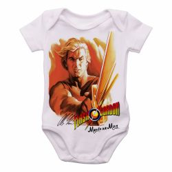 Roupa Bebê  Flash Gordon Morte ao Ming!