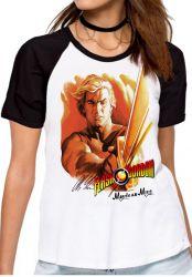 Blusa Feminina Flash Gordon Morte ao Ming!
