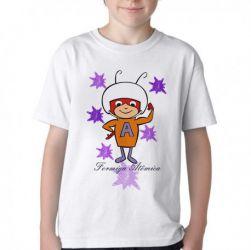 Camiseta Infantil  Formiga Atômica
