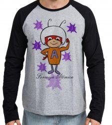Camiseta Manga Longa  Formiga Atômica