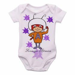 Roupa Bebê   Formiga Atômica