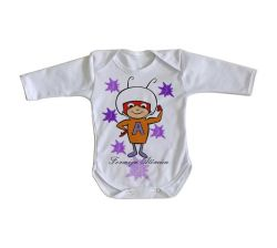 Roupa Bebê manga longa  Formiga Atômica