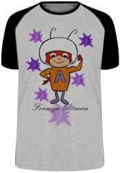 Camiseta Raglan  Formiga Atômica