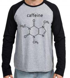Camiseta Manga Longa Fórmula Cafeína