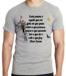 Camiseta Infantil frase Chico Xavier