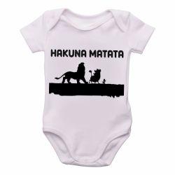 Roupa Bebê Rei Leão Hakuna Matata