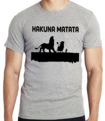 Camiseta Rei Leão Hakuna Matata