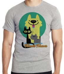 Camiseta Pets Friend Forever