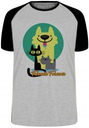 Camiseta Raglan Pets Friend Forever