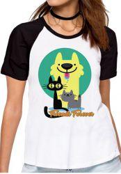 Blusa Feminina Pets Friend Forever