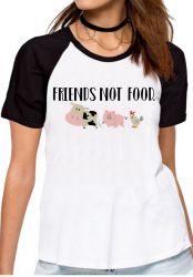 Blusa Feminina Friends not food