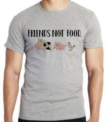 Camiseta Infantil Friends not food