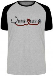 Camiseta Raglan Future Nurse