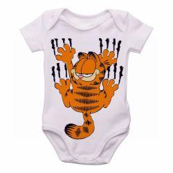 Roupa Bebê Garfield arranhando