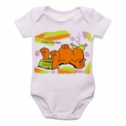 Roupa Bebê Garfield I hate mondays