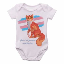 Roupa  Bebê gatos poemas ambulantes