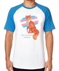 Camiseta Raglan gatos poemas ambulantes