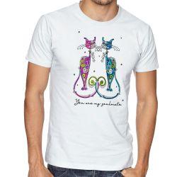 Camiseta Gatos You are my soulmate