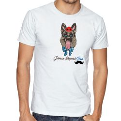 Camiseta German Sheperd Dad