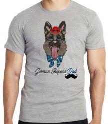 Camiseta Infantil German Sheperd Dad