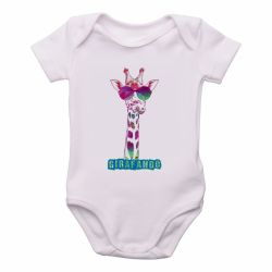 Roupa  Bebê Girafando