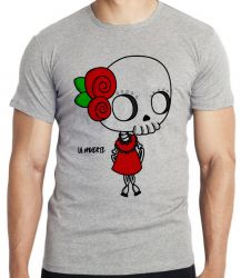 Camiseta Infantil Girl La muerte