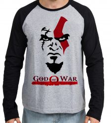 Camiseta Manga Longa God of War