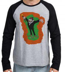 Camiseta Manga Longa Gravity Falls  Tio Stan