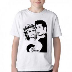 Camiseta Infantil  Grease