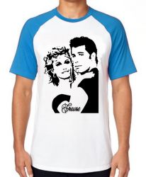 Camiseta Raglan  Grease