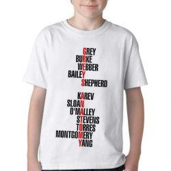 Camiseta Infantil  Grey