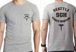 Camiseta Infantil  Grey's Anatomy Seattle Grace