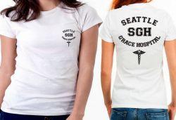 Blusa Feminina Grey's Anatomy Seattle Grace