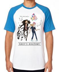 Camiseta Raglan Grey's Anatomy where does the good go