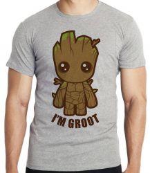 Camiseta Infantil Groot Bebê