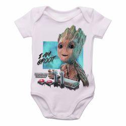Roupa  Bebê  Groot controle