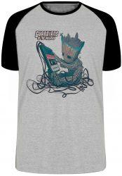 Camiseta Raglan Groot fita 2