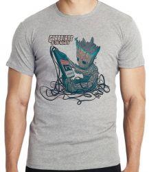 Camiseta Infantil Groot fita 2