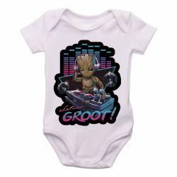 Roupa  Bebê  Groot DJ