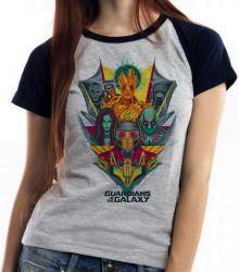 Blusa Feminina  Guardiões da Galáxia colorido