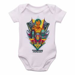 Roupa  Bebê  Guardiões da Galáxia colorido