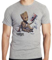 Camiseta Infantil Groot fita