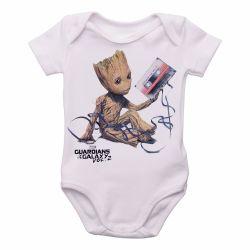 Roupa  Bebê  Groot fita