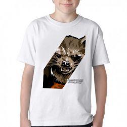 Camiseta Infantil Rocket