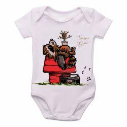 Roupa  Bebê  Rocket Groot Snoopy
