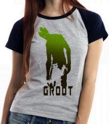 Blusa Feminina  Rocket Groot sombras